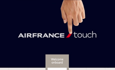 Air France 'welcome onboard'